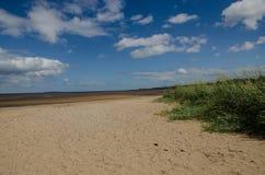 Cramond strand Royaltyfri Bild