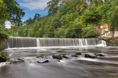 Cramond Weir. On the river Almond near Edinburgh, Scotland Royalty Free Stock Photo