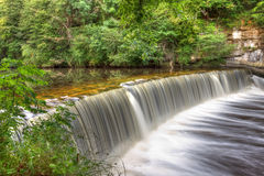 Cramond Weir royalty free stock images