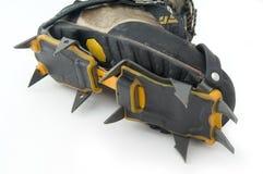 crampons ботинка Стоковая Фотография