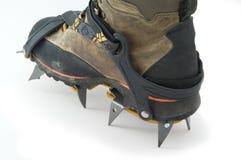 crampons ботинка Стоковая Фотография RF