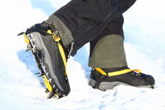 Crampons Stock Photography