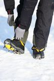 Crampons closeup Royalty Free Stock Images
