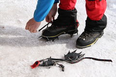 Crampons Royalty Free Stock Photo