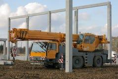 Cran-concrete pillar Stock Photography