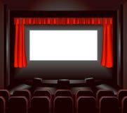 Écran de cinéma Images stock
