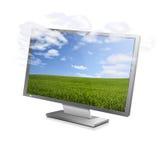 Écran nuageux Images libres de droits