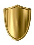 Écran protecteur d'or Images libres de droits