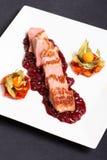 Cranbberies van het lapje vlees Royalty-vrije Stock Afbeeldingen