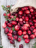 Cranberries fotografia royalty free
