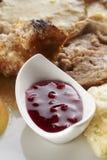 Cranberries jam Stock Image