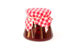 Cranberries jam Royalty Free Stock Images