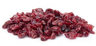 cranberries suszący rozsypisko Obrazy Stock
