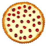 Cranberries tart Stock Image