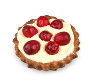 Cranberries tart Royalty Free Stock Photography