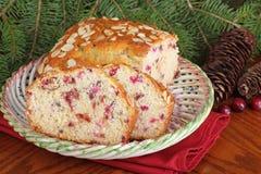 Cranberry Almond Bread Stock Photos