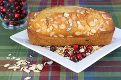 Cranberry Almond Loaf Royalty Free Stock Photos