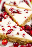 Cranberry bliss bar Stock Image