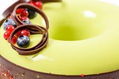 Cranberry And Blueberry Fruit Cake Royalty Free Stock Photo