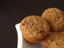 Cranberry Bran Muffins Royalty Free Stock Photos
