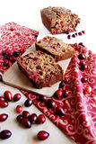 Cranberry bread Royalty Free Stock Photography