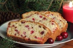 Cranberry Bread Closeup Stock Images