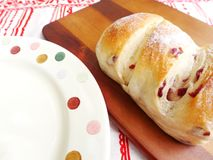 Cranberry bread, Farlona Stock Image