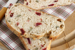 Cranberry Bread Stock Photos