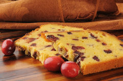 Cranberry cake Royalty Free Stock Photo