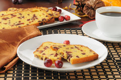 Cranberry cake Stock Images