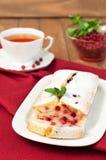 Cranberry cake Stock Photography