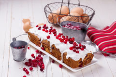 Cranberry cake Stock Photography