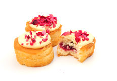 Cranberry cakes Stock Photo