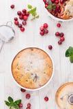Cranberry Cakes Stock Photos