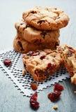 Cranberry ciastka Fotografia Stock