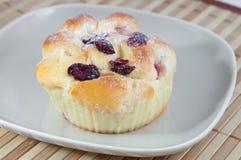 cranberry ciasto fotografia stock