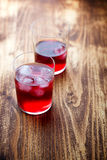Cranberry cocktail Royalty Free Stock Image