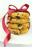 Cranberry cookies Royalty Free Stock Image