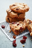 Cranberry Cookies Stock Photography