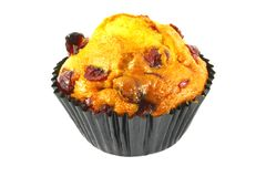 Cranberry Cupcake Royalty Free Stock Photo