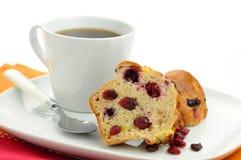cranberry cytryny słodka bułeczka zdjęcia stock