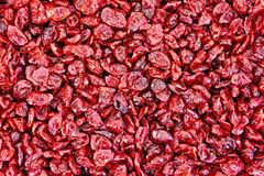 Cranberry dried texture Stock Photo