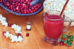 Cranberry Drink Royalty Free Stock Photography
