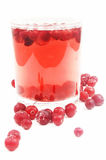 Cranberry drink Stock Photos