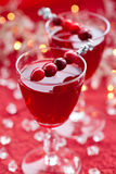 Cranberry drink Stock Photography