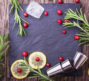 Cranberry drink for Christmas Royalty Free Stock Image