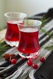 Cranberry drink Stock Photos