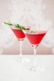 Cranberry drink Royalty Free Stock Image