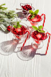 Cranberry drinks Royalty Free Stock Photography