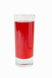 Cranberry fruit drink Royalty Free Stock Photo